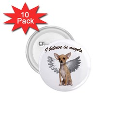 Angel Chihuahua 1 75  Buttons (10 Pack) by Valentinaart