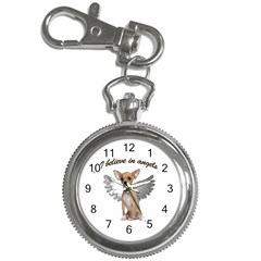 Angel Chihuahua Key Chain Watches by Valentinaart
