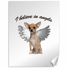Angel Chihuahua Canvas 12  X 16   by Valentinaart