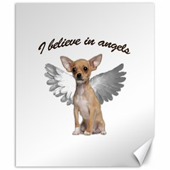 Angel Chihuahua Canvas 20  X 24   by Valentinaart