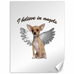 Angel Chihuahua Canvas 36  X 48   by Valentinaart