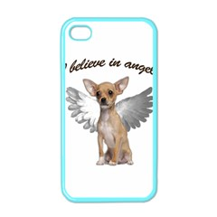 Angel Chihuahua Apple Iphone 4 Case (color) by Valentinaart