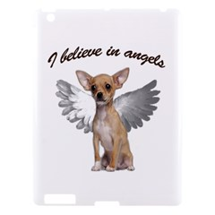 Angel Chihuahua Apple Ipad 3/4 Hardshell Case by Valentinaart