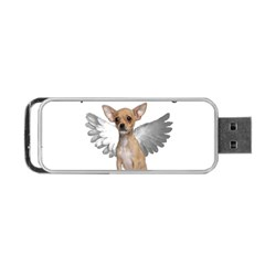 Angel Chihuahua Portable Usb Flash (one Side) by Valentinaart