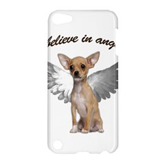 Angel Chihuahua Apple Ipod Touch 5 Hardshell Case by Valentinaart