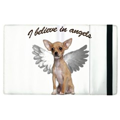 Angel Chihuahua Apple Ipad 2 Flip Case by Valentinaart