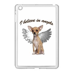 Angel Chihuahua Apple Ipad Mini Case (white) by Valentinaart