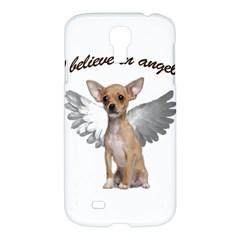 Angel Chihuahua Samsung Galaxy S4 I9500/i9505 Hardshell Case by Valentinaart