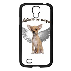 Angel Chihuahua Samsung Galaxy S4 I9500/ I9505 Case (black) by Valentinaart