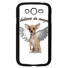 Angel Chihuahua Samsung Galaxy Grand Duos I9082 Case (black) by Valentinaart