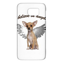 Angel Chihuahua Galaxy S6 by Valentinaart