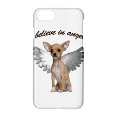 Angel Chihuahua Apple Iphone 7 Hardshell Case by Valentinaart