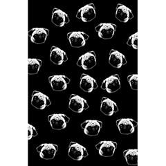 Pug Dog Pattern 5 5  X 8 5  Notebooks by Valentinaart