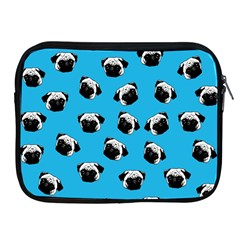 Pug Dog Pattern Apple Ipad 2/3/4 Zipper Cases by Valentinaart