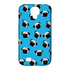 Pug Dog Pattern Samsung Galaxy S4 Classic Hardshell Case (pc+silicone) by Valentinaart