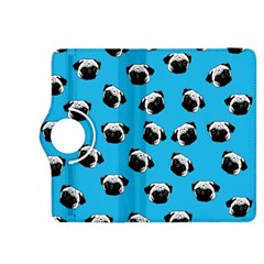 Pug Dog Pattern Kindle Fire Hdx 8 9  Flip 360 Case by Valentinaart