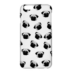 Pug Dog Pattern Apple Iphone 6 Plus/6s Plus Hardshell Case by Valentinaart