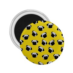 Pug dog pattern 2.25  Magnets