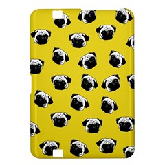 Pug Dog Pattern Kindle Fire Hd 8 9  by Valentinaart