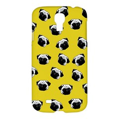 Pug Dog Pattern Samsung Galaxy S4 I9500/i9505 Hardshell Case by Valentinaart