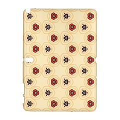 Orange flowers pattern   HTC Desire 601 Hardshell Case by LalyLauraFLM