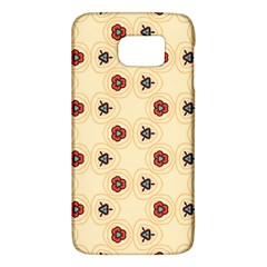 Orange flowers pattern   HTC One M9 Hardshell Case by LalyLauraFLM