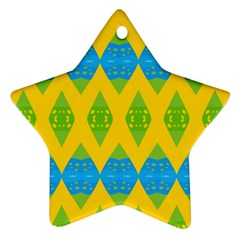 Rhombus Pattern           Ornament (star)