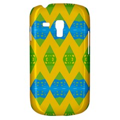 Rhombus Pattern     Samsung Galaxy Ace Plus S7500 Hardshell Case by LalyLauraFLM