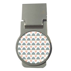 Triangles And Other Shapes           Money Clip (round) by LalyLauraFLM