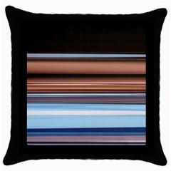 Color Screen Grinding Throw Pillow Case (black) by Nexatart