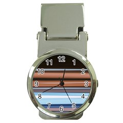 Color Screen Grinding Money Clip Watches