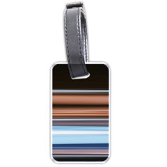 Color Screen Grinding Luggage Tags (one Side)