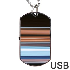 Color Screen Grinding Dog Tag Usb Flash (one Side) by Nexatart