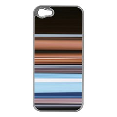 Color Screen Grinding Apple Iphone 5 Case (silver)