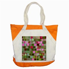 Color Square Tiles Random Effect Accent Tote Bag by Nexatart