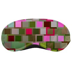 Color Square Tiles Random Effect Sleeping Masks by Nexatart