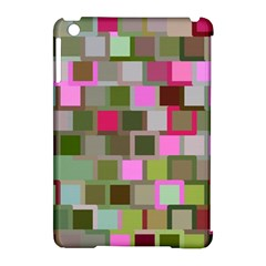 Color Square Tiles Random Effect Apple Ipad Mini Hardshell Case (compatible With Smart Cover) by Nexatart