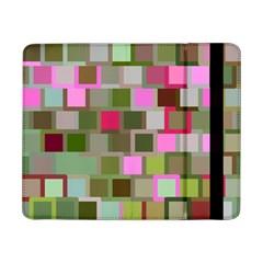 Color Square Tiles Random Effect Samsung Galaxy Tab Pro 8 4  Flip Case