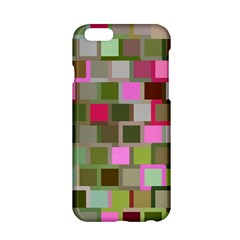 Color Square Tiles Random Effect Apple Iphone 6/6s Hardshell Case by Nexatart