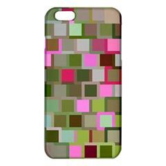 Color Square Tiles Random Effect Iphone 6 Plus/6s Plus Tpu Case