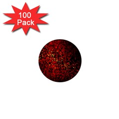 Red Particles Background 1  Mini Magnets (100 Pack)  by Nexatart