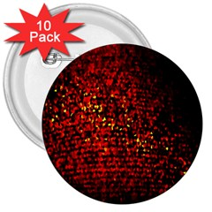Red Particles Background 3  Buttons (10 Pack)  by Nexatart