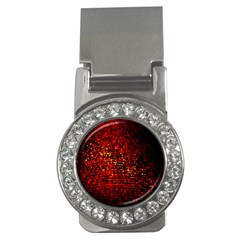 Red Particles Background Money Clips (cz)  by Nexatart