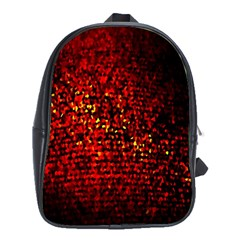 Red Particles Background School Bags (xl)  by Nexatart