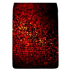 Red Particles Background Flap Covers (s)  by Nexatart