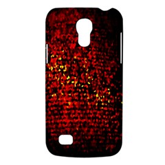 Red Particles Background Galaxy S4 Mini by Nexatart