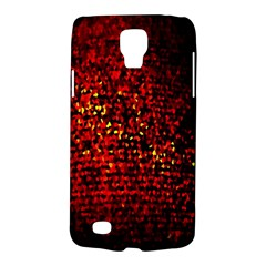 Red Particles Background Galaxy S4 Active by Nexatart