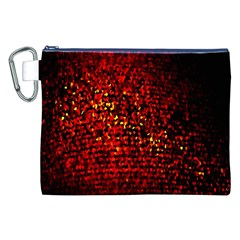 Red Particles Background Canvas Cosmetic Bag (xxl) by Nexatart