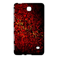 Red Particles Background Samsung Galaxy Tab 4 (8 ) Hardshell Case