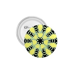 Yellow Snowflake Icon Graphic On Black Background 1 75  Buttons by Nexatart